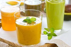 miks zdravih prirodnih sokova